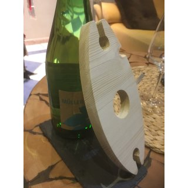 Weinbutler Natur 2 Gläser